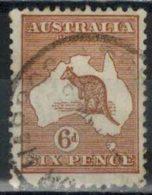 AUSTRALIEN 1915 - MiNr: 45 III  Used - 1913-48 Kangaroos