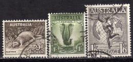 AUSTRALIEN 1956 - MiNr: 270-272  Used - 1952-65 Elizabeth II: Dezimalausgaben (Vorläufer)