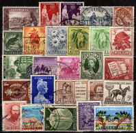 AUSTRALIEN 1958-1962 - Lot 26 Verschiedene  Used - 1952-65 Elizabeth II: Dezimalausgaben (Vorläufer)