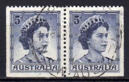 AUSTRALIEN 1959 - MiNr: 292 E Paar   Used - 1952-65 Elizabeth II: Dezimalausgaben (Vorläufer)