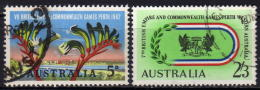 AUSTRALIEN 1962 - MiNr: 321-322 Komplett   Used - 1952-65 Elizabeth II: Dezimalausgaben (Vorläufer)