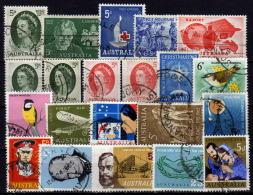 AUSTRALIEN 1963-1965 Lot 21 Verschiedene  Used - 1952-65 Elizabeth II: Dezimalausgaben (Vorläufer)