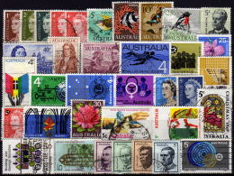 AUSTRALIEN 1966-1969 - Lot 36 Verschiedene Used - 1966-79 Elizabeth II