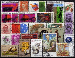 AUSTRALIEN 1970-1974 - Lot 25 Verschiedene Used - 1966-79 Elizabeth II