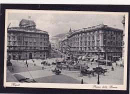Old Card Of Pizza Deffa Borsa,Napoli,Naples, Campania, Italy,N22. - Napoli (Naples)