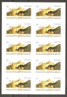 BRD 2856 Folienblatt 16 Markenset Postfrisch 2011 Zweiburgenblick Im Werratal Selbstklebend - Unused Stamps