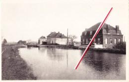 LEERS-NORD - L'Ecluse Et Vue Du Canal - Estaimpuis
