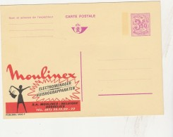- BELGIQUE - Carte Postale Préoblitérée Publicitaire MOULINEX à GOSSELIES   - 029 - Precancels