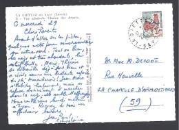 SAVOIE - Cachet Pointillé De LA GIETTAZ - Marcophilie (Lettres)