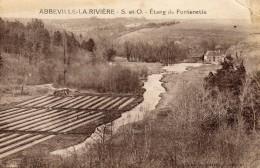 1939 ABBEVILLE LA RIVIÈRE - Etang De Fontenette - Petite Pliure En Haut à Droite Voir Scan - France