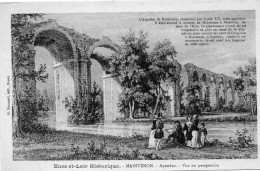 MAINTENON - Aqueduc - Vue En Perspective - Maintenon