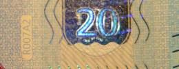 VF NOTA 20 EUROS DA ALEMANHA  RA  R007  D2. UNC  DRAGHI    RA 3973557417 - EURO