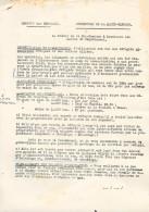 1940 - EXODE - Toulouse (31) - Service Des RÉFUGIES - Allocations Aux Réfugiés Nécessiteux - - Documents Historiques