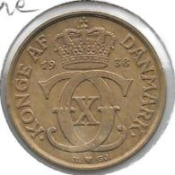 *denmark  1 Krone 1938 !!!  Km 824.2    Vf+ Rare !!! - Denmark