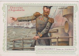 CHROMO - Chocolat D'Aiguebelle - Capitaine ROUDNIEFF - Combat De Tchemulpo - Guérin-Boutron