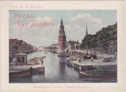 CHROMO - Cacao VAN HOUTEN - Amsterdam - La Tour Montelbaanstoren - Guérin-Boutron