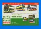 HK 2013-0006, Hong Kong Buses, MNH MS - Nuevos