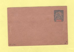 Oceanie - Entier Postal - Enveloppe 116x76 - 25c - Rabat Colle