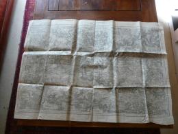 MEAUX  Carte Topographique De 1912 N° 40 - Topographische Kaarten