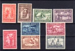 Caritas « Goutte De Lait », 150 / 158 *, Cote 65 €  Bonne Série , Faible Tirage - 1923-44: Nuovi