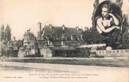 18266. Postal Chateau D' ANET (Eure Et Loire). Henri II Lo Construye Para Diane De Pitiers - Anet