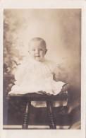 Young Baby Posing Jesse Eldon Peek Wellstone Oklahoma Real Photo - Men