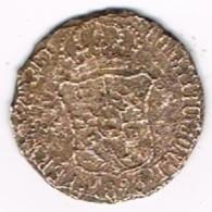 Moneda 3 Cuartos Cu Barcelona 1823. Fernando VII - [ 1] …-1931 : Reino