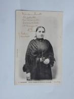 Carte Postale Ancienne: ILE DE RE : Femme Rhétaise En Costume Du Dimanche, En 1904 - Ile De Ré