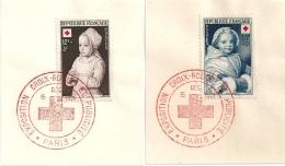 France CROIX-ROUGE 1951 - Sheetlets