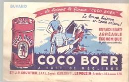 Buvard COCO BOER La Boisson En Toute Saison! A Base De Réglisse - Limonades