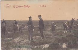Cpa-belgique-armée Belge--le Roi-edi Marco - Zonder Classificatie