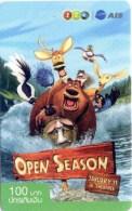 Mobilecard Thailand - 12Call - Movie,Film,cinema  - Open Season (5) - Kino