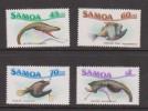Samoa 1987 Fish & Marine Life Set 4 MNH - Samoa (Staat)