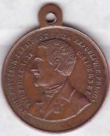 Médaille élection De Louis Napoléon Président De La République 1848 – Le Serment - Francia