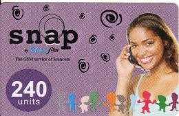 Ghana Prepaid Card, Snap 240 Units - Ghana