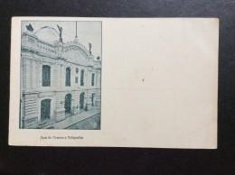 AK   PERU   CASA DE CORREOS Y TELEGRAFOS    1900. - Perú