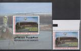 Djibouti Dschibuti 2010 Bloc Souvenir Sheet Block FIFA World Cup South Africa Coupe Du Monde WM Football Mi. Bl. 165 - Dschibuti (1977-...)