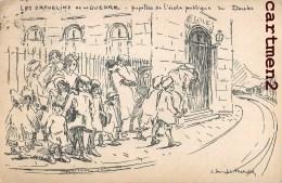 LES ORPHELINS DE LA GUERRE PUPILLES DE L4ECOLE PUBLIQUE DU DOUBS ILLUSTRATEUR 25 DOUBS PATRIOTISME - Frankreich