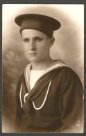 FOTOGRAFIA  FOTO - MILITARE MARINAIO - Datata  05 - 1929 - STUDIO MODERNA  SPEZIA (2 Scans.) - Guerre, Militaire