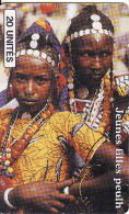Mali, Chip, Jeunes Filles Peulh - Mali