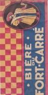 Biére Du Fort Carré ,chapeau En Papier Pour Le Tour De France,frais Port 2e,50 - Latas