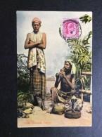 AK   CEYLON  SRI LANKA  SNAKE CHARMERS  1910 - Sri Lanka (Ceylon)