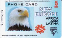 Luxembourg, Bird, Prepaid, Condor - Luxemburg