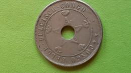 Belgisch Congo-Congo Belge: 20 C, AlbertI, 1911 - 1910-1934: Albert I