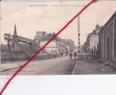 CP 62  -   BRUAY EN ARTOIS - La Rue Nationale Et E Passage à Niveau - Non Classificati