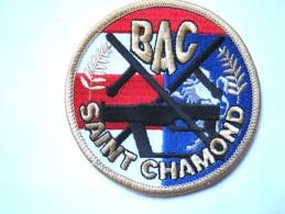 INSIGNE TISSUS PATCH  POLICE NATIONALE LA BAC DE SAINT CHAMOND 42 ETAT EXCELLENT - Police & Gendarmerie