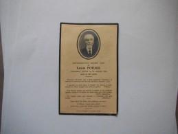 SOUVENEZ-VOUS DEVANT DIEU DE LOUIS POUJOL PIEUSEMENT DECEDE LE 31 JANVIER 1934 DANS SA 80e ANNEE - Andachtsbilder