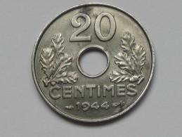 20 Centimes FER  1944 - Etat Francais **** EN ACHAT IMMEDIAT **** - E. 20 Centimes