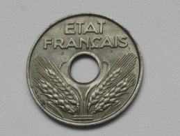 20 Centimes FER  1944 - Etat Francais **** EN ACHAT IMMEDIAT **** - E. 20 Centesimi