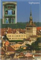 Sighisoara Segesvar Schassburg The Clock Tower Medieval Dolls Sculpture - Unused,perfect Shape - Monuments